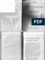 Lintellectualisme et la liberté - Garrigou-Lagrange - RSPT 1907