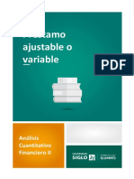 Préstamo Ajustable o Variable4