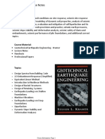 Course Notes Earthquake Engineering