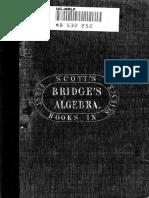 Bridge, B. an Elementary Treatise on Algebra (1848)_bw