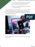 Cara Downgrade IOS 12 Beta Ke IOS 11 Final Di iPhone