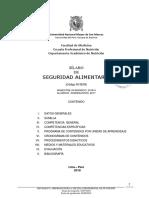 2018 2 n15E09 Seguridad Alimentaria