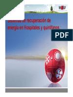 Sistemas de Recuperacion de Energia en Hospitales y Quirofanos Fenercom