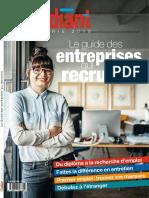 Le guide des entreprises qui recrutent 2018