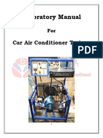 Car Air Conditioner Lab Manual