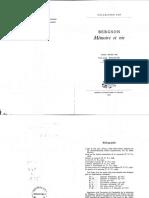 Deleuze - Memoire et Vie (choix de textes de Bergson) [PUF 1966 ].pdf
