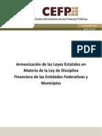 Armonizacion Ley de Discplina Financiera