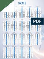 Serie D - Girone E Calendario 2018 - 2019