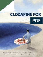 Clozapine for Schizophrenia- Life-threatening or Life-saving Treatment