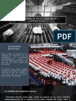 Economías de Escala, Alcance y Aprendizaje