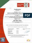 CERTIFICADO DE CALIDAD ISO 9001 BUREAU VERITAS NÚMERO ES096817-1