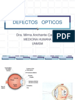 DEFECTOS   OPTICOS