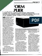 Waveform Multiplier