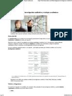 Tablas y Diagramas Cualitativos