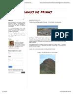 Nos Caminhos de Minas - Trekking Serra Do Curral (Blog)