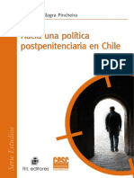 Hacia Una Política Postpenitenciaria en Chile