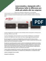 Stampante Laser Economica Prink Presenta La Linea Pantum