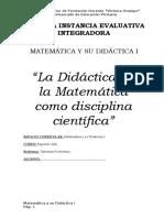 Trabajo Práctico Didáctica de la Matemática