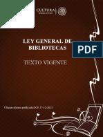 Ley General Biblioteca s 2015