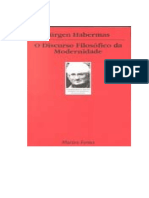 Habermas, Jürgen - O Discurso Filosófico Da Modernidade