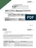 Syllabus Fortalecimiento de Habiliades Académicas i