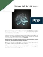 Kisah Nabi Muhammad SAW dari Lahir hingga Wafat.docx
