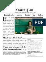 Clarin Pan 3 terceira edição