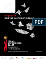 Programa Dia Emprendedor 2010 Barcelona