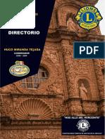 Directorio Distrito H1 2018-2019
