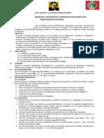 Bases Campeonato Magisterial 2018-04 Setiembre