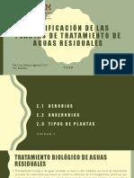 Clasificación de las Plantas de Tratamiento de Aguas.pptx