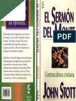 Sermon Del Monte-John Stott