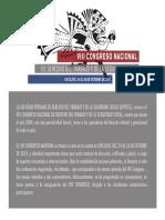 VIII Congreso Nacional de la SPTDSS, Chiclayo, 24 al 26.10.2018