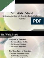 Ephesians Sit, Walk, Stand Pt #1