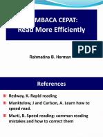2.5 Membaca Cepat