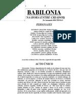 DISCÉPOLO, Armando - Babilonia