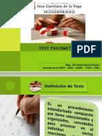 SESION N° 1  TEST PSICOMETRICOS