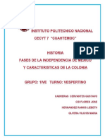 FASES DE LA INDEPENDENCIA DE MEXICO - copia.docx