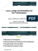 Car Transmission Design