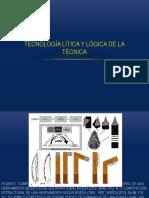 Tecnología lítica y lógica de la técnica.pptx