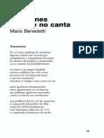Canciones del que no canta - Mario Benedetti.pdf