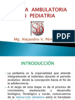 Terapia Ambulatoria en Pediatría