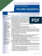 APEX Team Noutati Legislative 8 2018