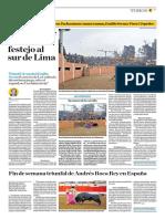 El Comercio (Lima-Peru) Lun 30 Julio 2018 (Pag A25) Pagina Taurina