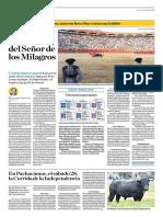 El Comercio (Lima-Peru) Lun 23 Julio 2018 (Pag A30) Pagina Taurina