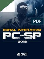 Edital Interativo Pc Sp Nova Concursos
