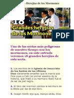 18 Herejias de Los Mormones
