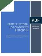 Programa Debate Electoral 1