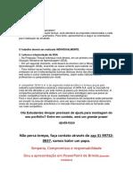Trabalho - Gfin.  (31)997320837