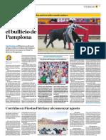 El Comercio (Lima-Peru) Lun 16 Julio 2018 (Pag A25) Pagina Taurina (Public)